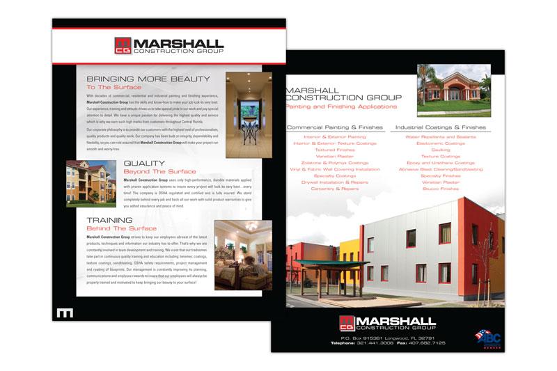 Stephenson Marketing Construction Company Orlando Brochure