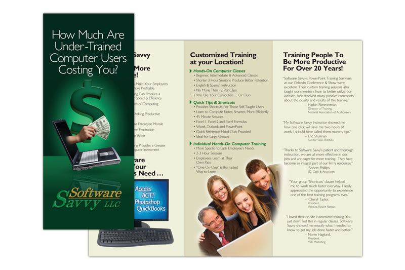 Stephenson Marketing: Computer Training, Orlando Brochure